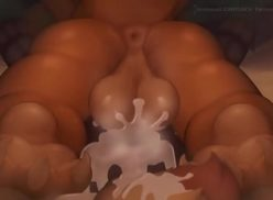 Sexo pokemon enchendo a buceta da safada de porra