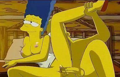 os simpsons fazendo sexo