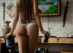 Aline faria nua em ensaio sensual dessa gamer gostosa