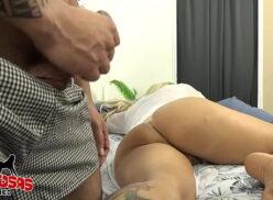Transando com a sogra loira bunduda em porno brasileiro