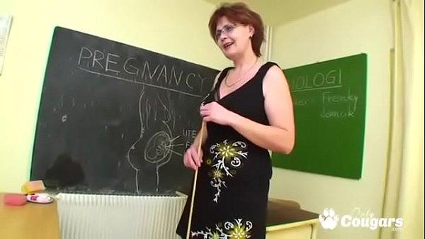 Professora e aluno